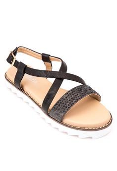 Hunter Flat Sandals
