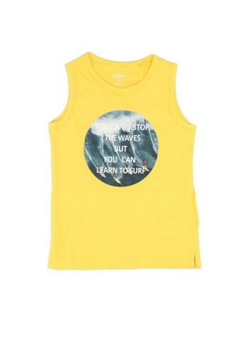 FOX Kids & Baby yellow Printed Tank Top CA3D3KA06A14C1GS_1