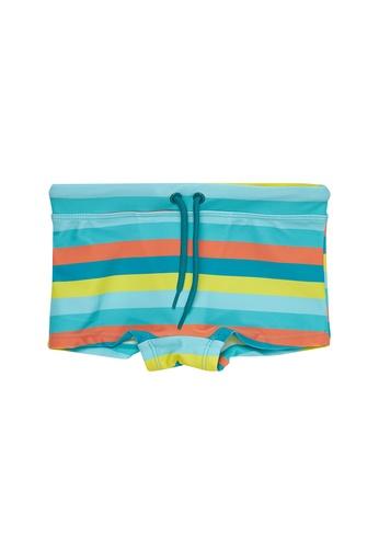 Du Pareil Au Même (DPAM) blue Swim Tight Shorts D135CKAFA8E3C6GS_1