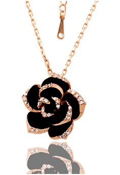 18k Rose Gold Plated Rosanna Necklace
