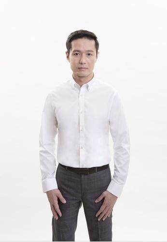 Goldlion white Goldlion Nanotech Wrinkle Free Long-Sleeved Shirt F7F40AA5B6BB52GS_1