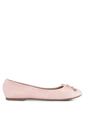 Bata pink Ballerina Flats BA156SH0RCUWMY_1
