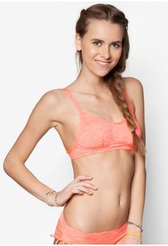 Melange Halter Bikini Top