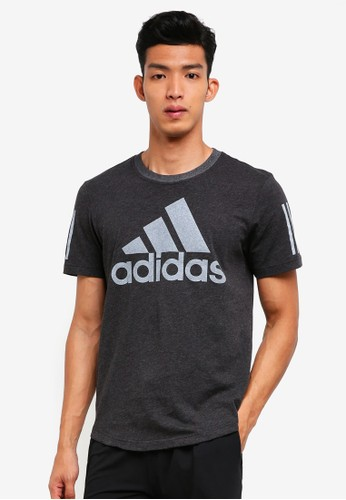 adidas black and multi adidas m sid logo tee E00EAAAFC15AEBGS_1