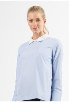d18e78a8de63d5 Long Sleeves Dawn Hi Lo Shirt Top Blue 904B9AA0836DF2GS 1 Bove by Spring  Maternity ...