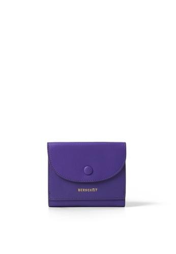 BERACAMY purple BERACAMY Tri-fold Compact Wallet - Bright Purple 4A363ACD949E00GS_1