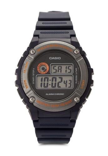 Casio blue Casio Men's Blue Watch CA843AC33VISMY_1