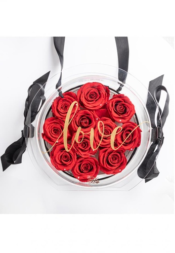 Her Jewellery red Everlasting Preserved Rose - Honey Bag (Red) 87897HL970BC7CGS_1