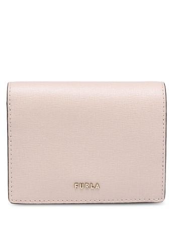 Furla pink Babylon Compact Wallet Chain (nt) 26669AC9161571GS_1