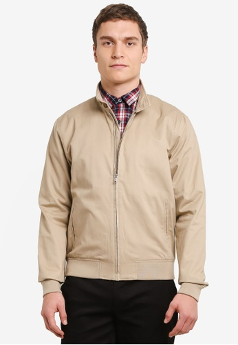 Topman 米褐色 Global Harry Jacket TO413AA0SHCQMY_1