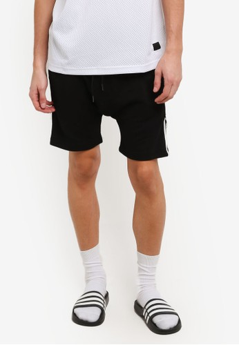 Flesh IMP black Round Ring Yondu Shorts FL064AA0RTP2MY_1