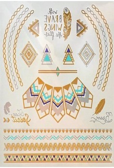 Kimberley Free Spirit temporary jewelry tattoo