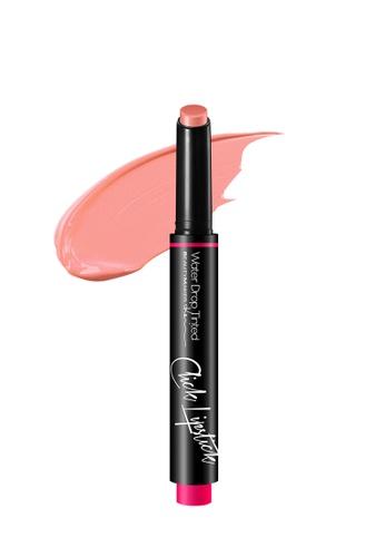 BEAUTYMAKER pink Water Drop Tinted Click Lipstick - Caramel BE114BE82FZDSG_1