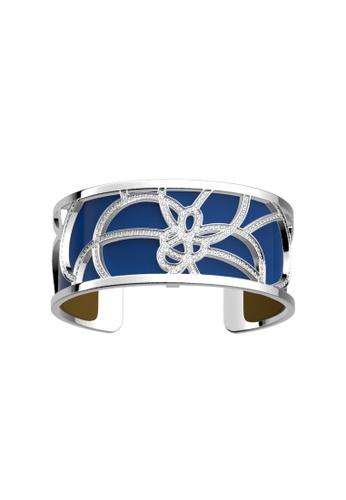 Les Georgettes by Altesse multi Les Georgettes Pétales Silver 25mm Bracelet Patent Bright Blue & Mustard Yellow leather 17077ACE9FB35DGS_1