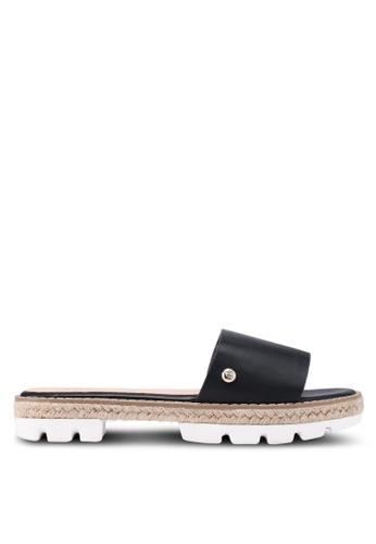 Nose black Espadrille Slip On Sandals 6DA1FSH019B429GS_1