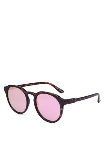 Rubi brown Emerson Preppy Sunglasses F5E7AGL885D6D8GS_1
