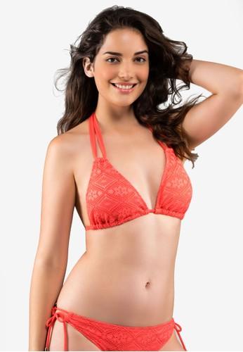 Dorina orange Aruba-3 Triangle Bikini Top ECD02US4217E2DGS_1