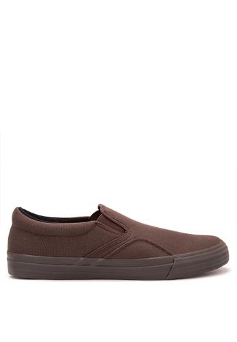 SONNIX brown Ackbar 2 Men's Slip On Sneaker Shoes SO490SH36HSXPH_1