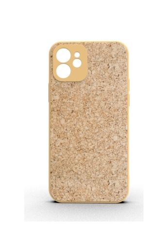 Kings Collection brown Japanese Wood Grain iPhone 12 Case (KCMCL2411) CDC93AC3571848GS_1