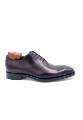 Giorostan brown Men Formal Oxford Shoes 2EBF6SHE517740GS_1
