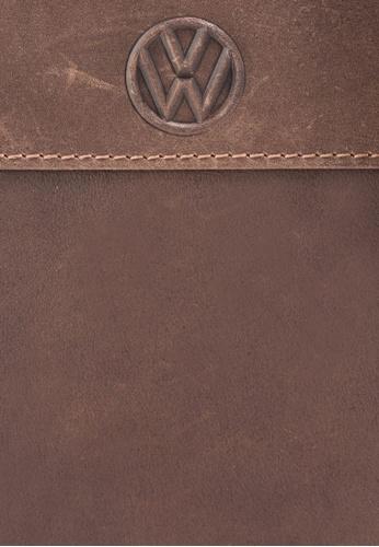 Volkswagen brown Volkswagen Genuine Leather Bag VO089AC00GMPMY_1