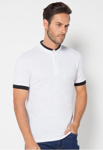 Solid Krah Hitam,Polo Shirt
