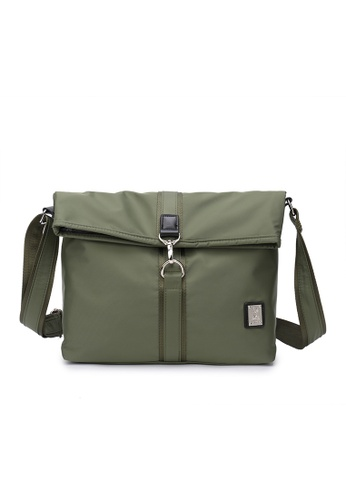 DUSTY green Tote Folded 57C7AACC4ACBD4GS_1