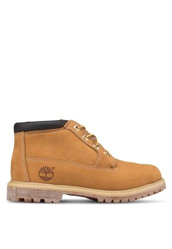 Timberland 褐色 Nellie Earthkeepers 抗疲勞防水靴 TI063SH20QBFMY_1