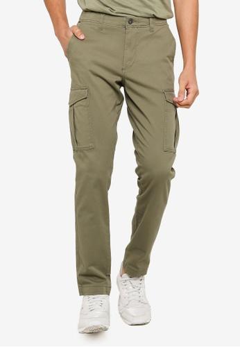 Jack & Jones green Utility Pants E20D0AA0BB32B0GS_1