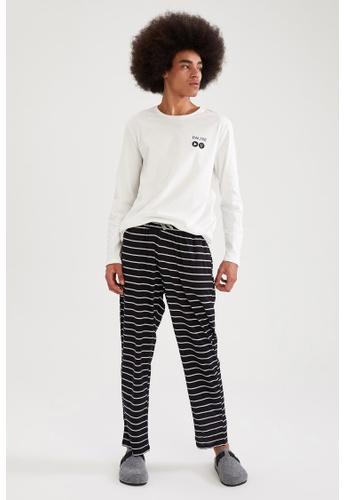 DeFacto white Man 2-pieces Homewear Set F9680AA14CB9E0GS_1