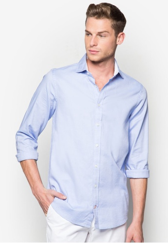 Tommy Hilfiger blue NICKY SHIRT SFW6 TO861AA95BBOMY_1