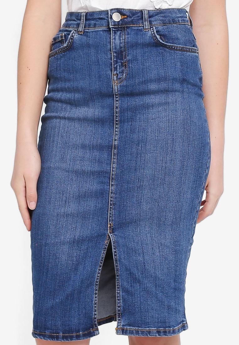 Blue Denim Skirt Perkins Dorothy Pencil Midwash qTx8XnAS