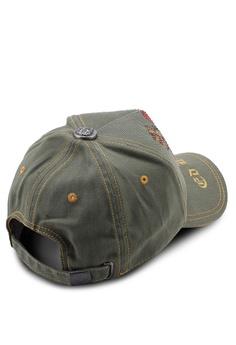d58f4ea3079045 10% OFF Ed Hardy Ed Hardy Skull & Heart Rhinestone Embroidered Baseball Cap  RM 149.00 NOW RM 134.10 Sizes One Size