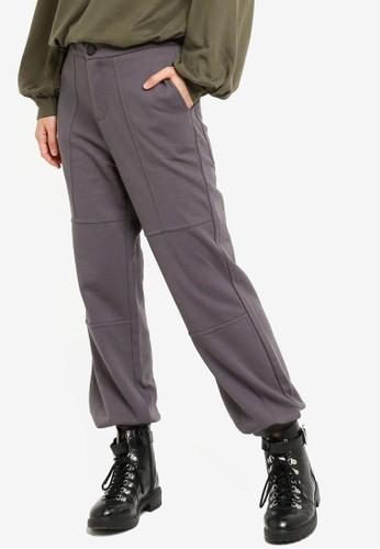 Vero Moda grey Zelda Pants 4249EAA7CF543AGS_1