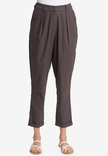 The Fated grey Epitome Pants C51B7AAEA63A94GS_1
