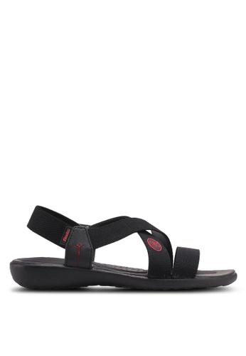 Bata black Dorian Sandals 105AFSHE5677BAGS_1