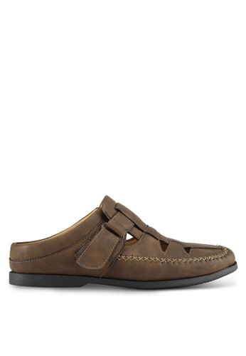 Louis Cuppers brown Casual Slip Ons C5ECASH0B01B09GS_1