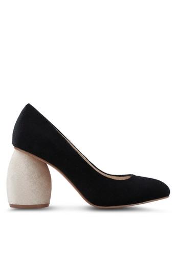 ZALORA 黑色 Chunky Heels 78AF2SHE1DC5CEGS_1