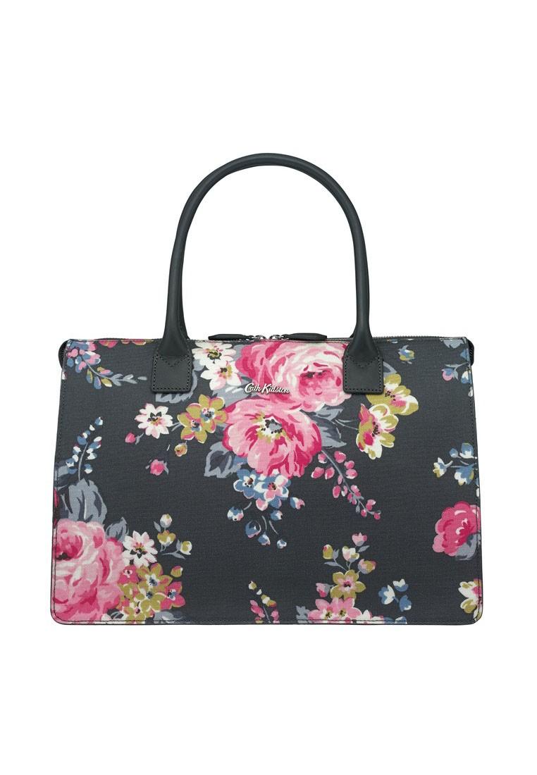 Norfolk Rose Embossed Folio Handbag