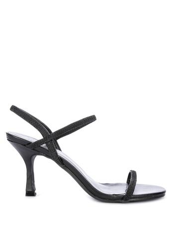 Primadonna black Strappy Heels 244E3SHD9036AEGS_1
