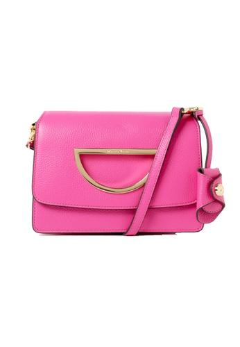 Samantha Thavasa pink Samantha Thavasa Violet D Corey Leather Bag (S) B02CEACE080A49GS_1