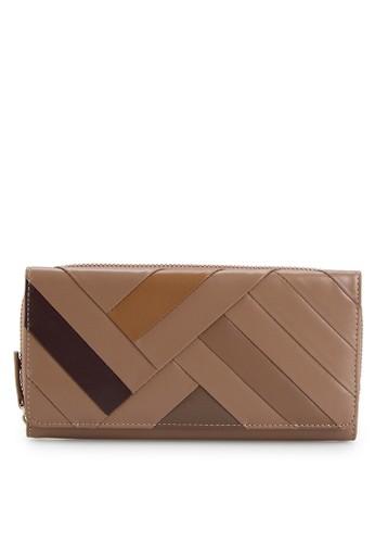 PIERRE CARDIN brown Pierre Cardin Deisy  Long Wallet - Tan 60B31AC392B3B2GS_1