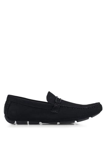 Call It Spring black Rainy Loafers E725ESH639D66EGS_1