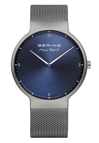 Bering grey Max Rene 15540-077 Blue 40 mm Men's Watch C5E0AAC7545425GS_1