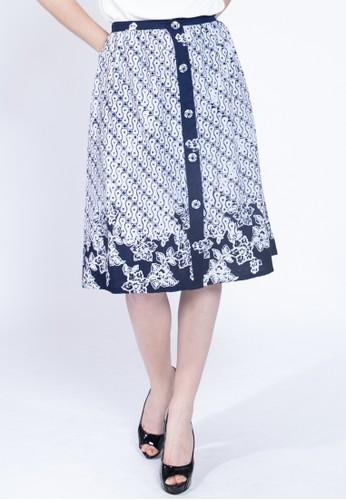 KICHI BATIK blue Rok Batik Listya 40B56AA42A4B20GS_1