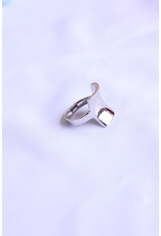 Art by Design Stainless steel high polish ring and unique to wear