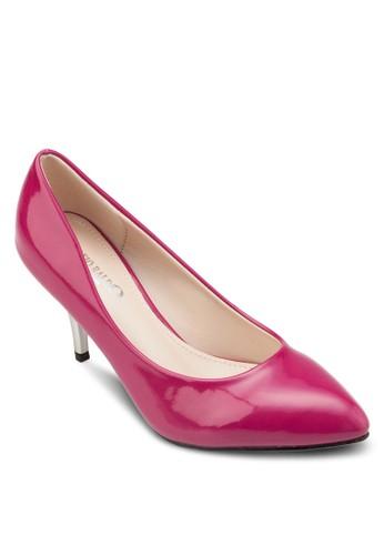 尖頭撞色高跟鞋, 女鞋,esprit鞋子 鞋