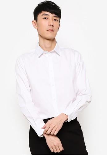 ZALORA BASICS white Regular Fit Work Shirt 48951AA86BD3ABGS_1