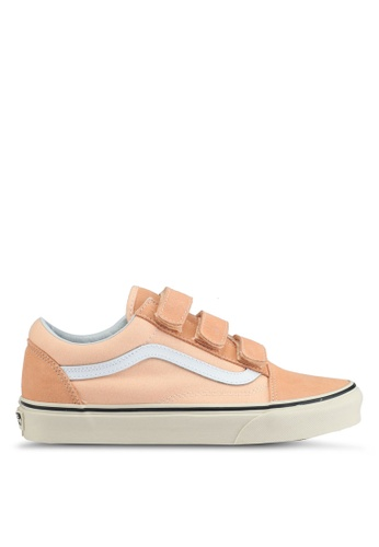 VANS orange Old Skool V Sneakers VA142SH0SWW2MY_1