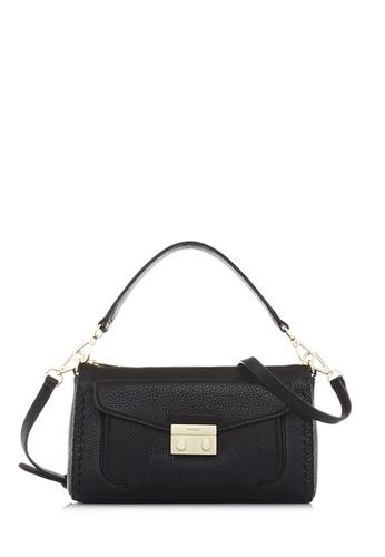 BONIA black Black Broad Sling Bag 069CEAC9485BD7GS_1